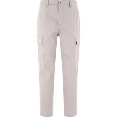 ヴァレンティノ Valentino メンズ カーゴパンツ ボトムス・パンツ Cropped Cargo Pants Gray