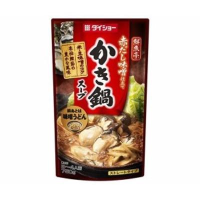 送料無料 ダイショー 鮮魚亭 かき鍋スープ 750g×10袋入