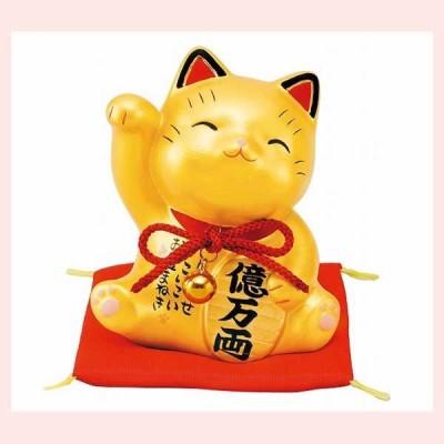 彩耀 お金招き猫(金)