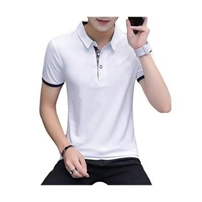 [meryueru(メリュエル)] 選べる 3タイプ カジュアル ポロシャツ 大人 スタイル お洒落 トップス 半袖 シャツ カット