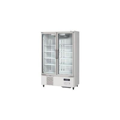 ホシザキ リーチイン冷蔵ショーケース ユニット下置き USRシリーズ ロングガラス扉 USR-120AT3 白