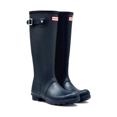 ハンター(HUNTER) レディース オリジナル トール ネイビー WFT1000RMA NVY 長靴 ロングブーツ ラバーブーツ 雨靴 レインシューズ レインブーツ