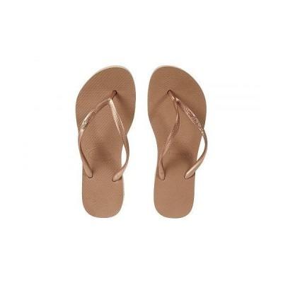 Havaianas ハワイアナス レディース 女性用 シューズ 靴 サンダル Slim Flatform Sandal - Rose Gold
