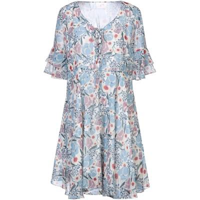 SWEET SECRETS ミニワンピース&ドレス スカイブルー 42 ポリエステル 100% ミニワンピース&ドレス