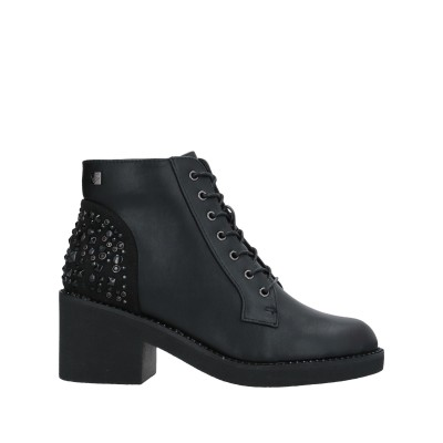 TUA BY BRACCIALINI ショートブーツ ブラック 37 ゴム / 紡績繊維 ショートブーツ