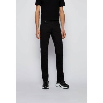 ボス デニムパンツ メンズ ボトムス MAINE - Slim fit jeans - black