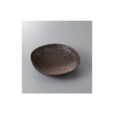 大皿 盛皿 金結晶20cmディーププレート 陶器 器 美濃焼 日本製