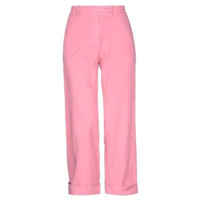 BRUNO MANETTI パンツ ピンク 42 コットン 85% / エラストマルチエステル 12% / ポリウレタン 3% パンツ