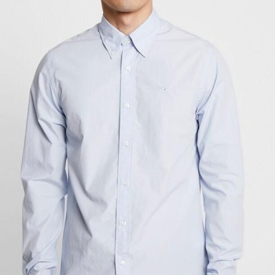スコッチ&ソーダ メンズ ファッション CRISPY REGULAR FIT BUTTON DOWN COLLAR - Shirt - blue