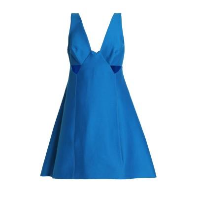 ホルストン・ヘリテージ HALSTON ミニワンピース&ドレス ブライトブルー 12 コットン 81% / シルク 19% ミニワンピース&ドレス