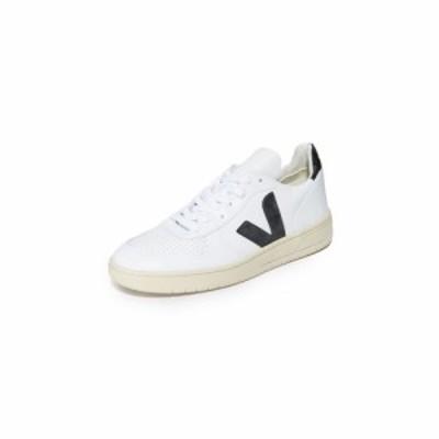 ヴェジャ Veja メンズ スニーカー シューズ・靴 V-10 Leather Sneakers Extra White/Black