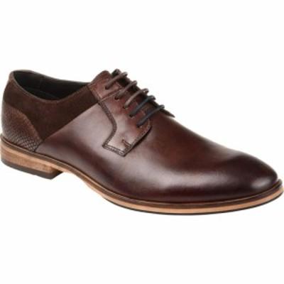トーマスアンドバイン Thomas and Vine メンズ シューズ・靴 ダービーシューズ Jaxon Plain Toe Derby Brown