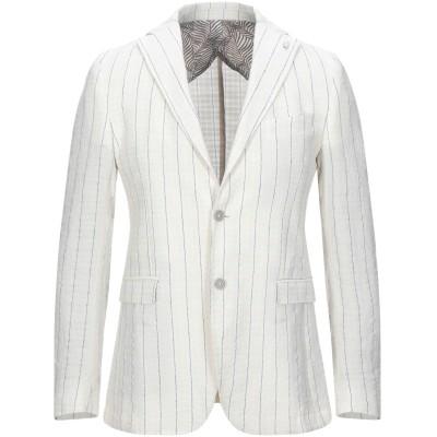 BARBATI テーラードジャケット アイボリー 50 リネン 50% / コットン 50% テーラードジャケット