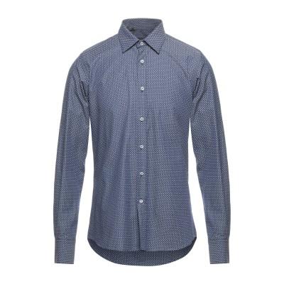 HAVANA & CO. シャツ ダークブルー 40 コットン 100% シャツ