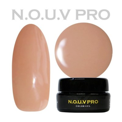 NOUV Pro ノーヴプロ ジェルネイル カラージェル SM02 ライトベージュ 4g 【ネコポス対応】 ネイル用品の専門店 プロ用にも