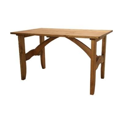 木製ダイニングテーブル インテリア ダイニング 木製テーブル フォレ 幅120cm 引出し付 テーブル おしゃれ ダイニングテーブル 机 つくえ デスク 天然木 食卓
