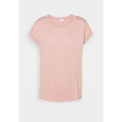 ヴィラ Tシャツ レディース トップス VIDREAMERS PURE - Basic T-shirt - misty rose