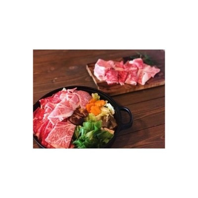 多度津町 ふるさと納税 本格手打ち蕎麦とオリーブ牛すき焼きセット【B-34】