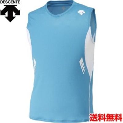 デサント(DESCENTE) メンズ ランニングウェア ランニングシャツ DRN-4700-MRWH