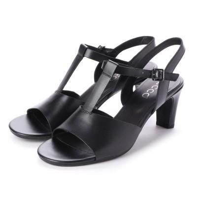 エコー ECCO SHAPE SLEEK SANDAL 65 Shoe (BLACK)