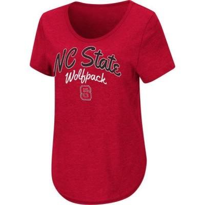 コロシアム レディース Tシャツ トップス Colosseum Women's NC State Wolfpack Red Rule Breaker T-Shirt