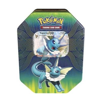 Pokemon TCG Elemental Power Tin Featuring VaporeonGX
