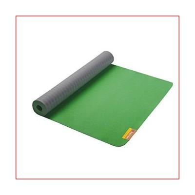 Hugger Mugger Earth Elements Yoga Mat, Misty Meadow, 3mm【並行輸入品】
