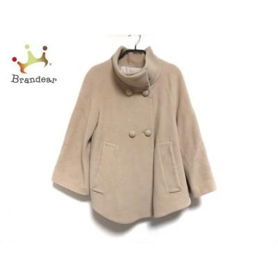 ボンメルスリー Bon mercerie コート サイズ36 S レディース ベージュ ショート丈/冬物   スペシャル特価 20210108