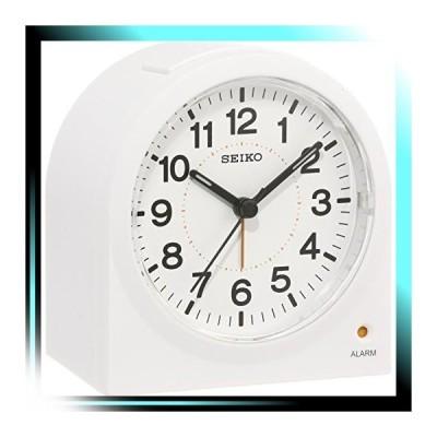セイコー クロック 目覚まし時計 アナログ 白 KR894W SEIKO