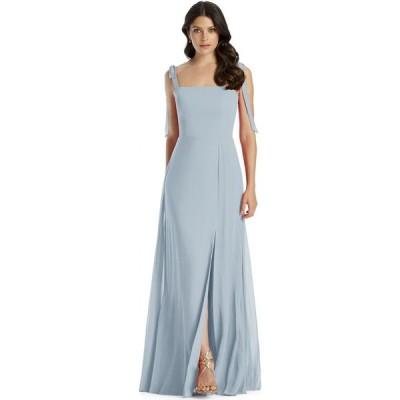 ディシーコレクション Dessy Collection レディース パーティードレス ワンピース・ドレス Tie-Strap Chiffon Gown Mist