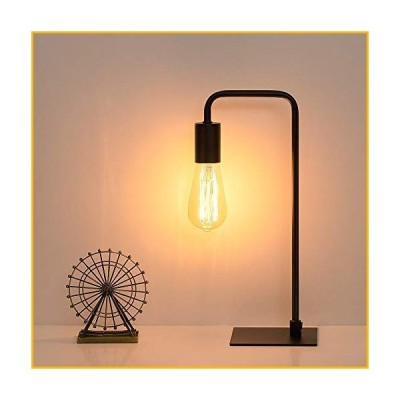 【☆送料無料☆新品・未使用品☆】Industrial Desk Lamp, Nightstand Lamp Square Base Table Lamp Vintage Bedside lamp for Living