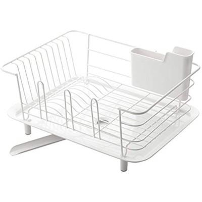 水切りかご リベラタ ディッシュドレイナー ホワイト EDI1501(ホワイト, レギュラー)