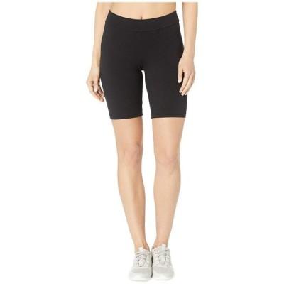 ヒュー レディース ハーフパンツ・ショーツ ボトムス High-Waist Blackout Cotton Bike Shorts