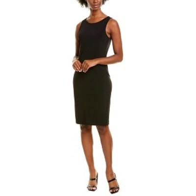 レオタ レディース ワンピース トップス Leota Hilary Midi Dress black essential jersey