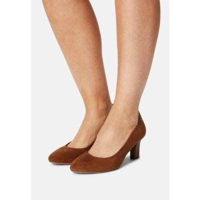 レディース 靴 シューズ Classic heels - cognac