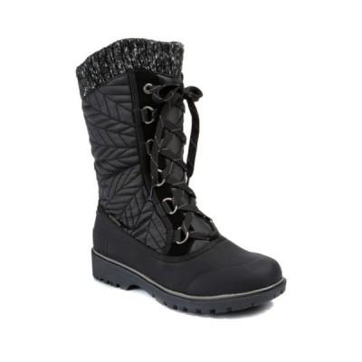 ベアトラップス レディース ブーツ&レインブーツ シューズ Stark Waterproof Thermal Cold Weather Boot BLACK