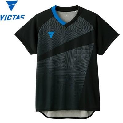 【メール便対応】ヴィクタス 卓球 ゲームシャツ V-GS801 メンズ レディース 031474-0020