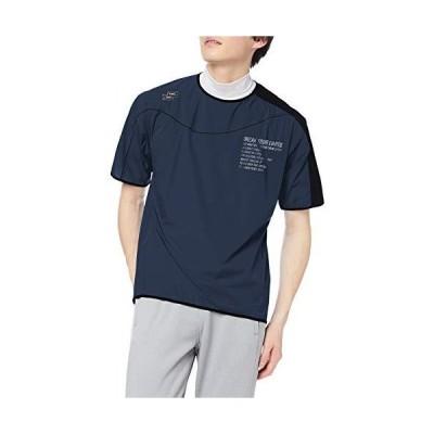 エスエスケイ 半袖シャツ proedge 半袖トレーニングピステ メンズ ナイトグレー (91) L