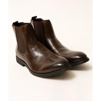 ブーツ 【DEDES】サイドゴアドレスブーツ チェルシーブーツ
