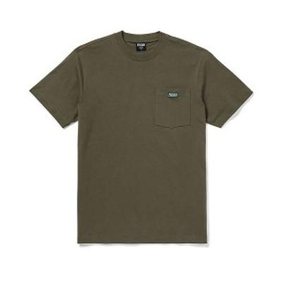 フィルソン メンズ Tシャツ トップス Filson Men's Ranger Solid One Pocket T-Shirt Service Green
