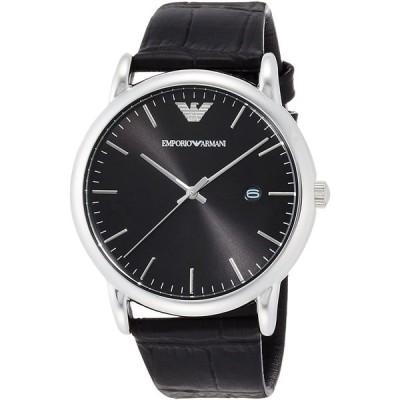 [9/13-15 の3日間paypayボーナス+5%] エンポリオアルマーニ 腕時計 メンズ ルイージ ブラック  AR2500 EMPORIO ARMANI