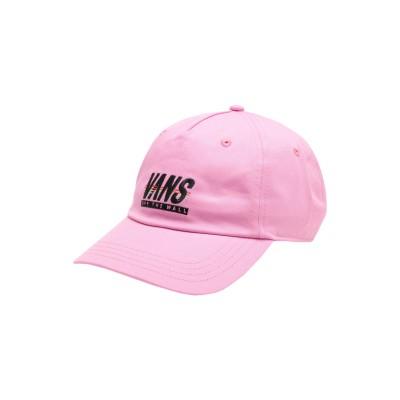 ヴァンズ VANS 帽子 ライトパープル one size コットン 100% 帽子