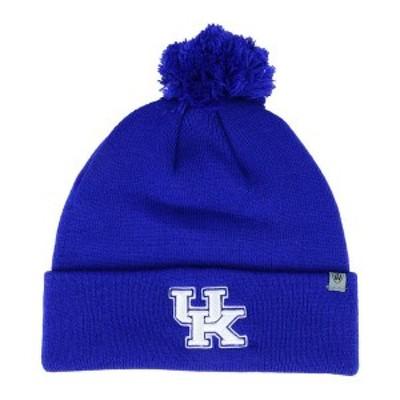 トップ・オブ・ザ・ワールド メンズ 帽子 アクセサリー Kentucky Wildcats Core Pom Knit Hat RoyalBlue