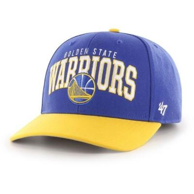 フォーティセブン 47 メンズ キャップ 帽子 Golden State Warriors MVP Adjustable Hat