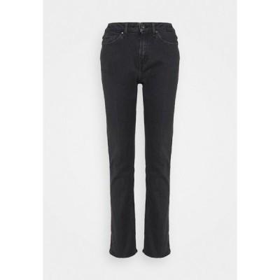 タイガー  オブ  スウェーデン ジーンズ デニムパンツ レディース ボトムス MEG - Straight leg jeans - black