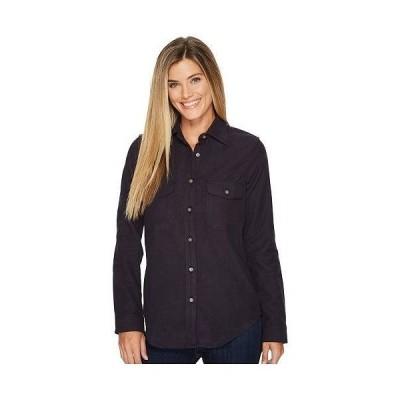 Filson フィルソン レディース 女性用 ファッション ボタンシャツ Moleskin Shirt - Navy