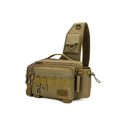 DENGNI Multifunctional Outdoor Fishing Tackle Bag Waterproof Shoulder Cross