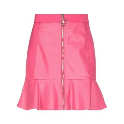 ELISABETTA FRANCHI ひざ丈スカート フューシャ 42 ポリエステル 100% / ポリウレタン ひざ丈スカート