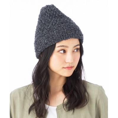 QUEENHEAD / モコモコニットキャップ WOMEN 帽子 > ニットキャップ/ビーニー