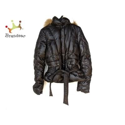 コムサデモード COMME CA DU MODE ダウンコート サイズ11 M レディース 美品 黒 冬物 新着 20210124